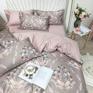 Feather Silk Duvet Cover Set - Find Home Supplies