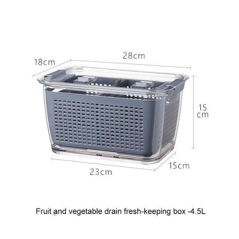 Fruits & Vegetables Storage Container - Find Home Supplies