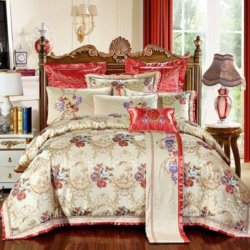 Gazaneya Oriental Jacquard Luxury Bedding Set - Find Home Supplies