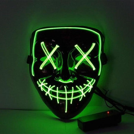 Halloween LED Mask-Find Home Supplies
