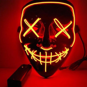 Halloween LED Mask - Find Home Supplies