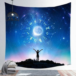 Indian Buddha Wall Hanging Tapestry (15 Patterns)-Find Home Supplies