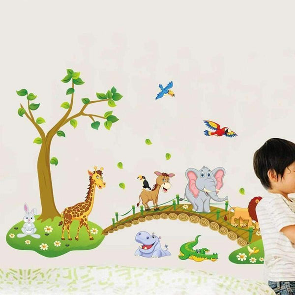 Kids Living Room Wall Sticker-Find Home Supplies