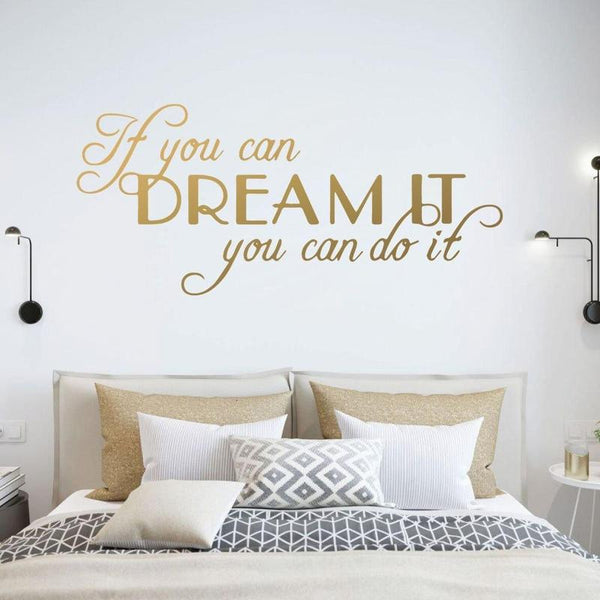 Large Quotes Motivating Wall Sticker-Find Home Supplies