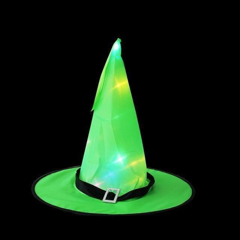 LED Halloween Witch Hat-Find Home Supplies