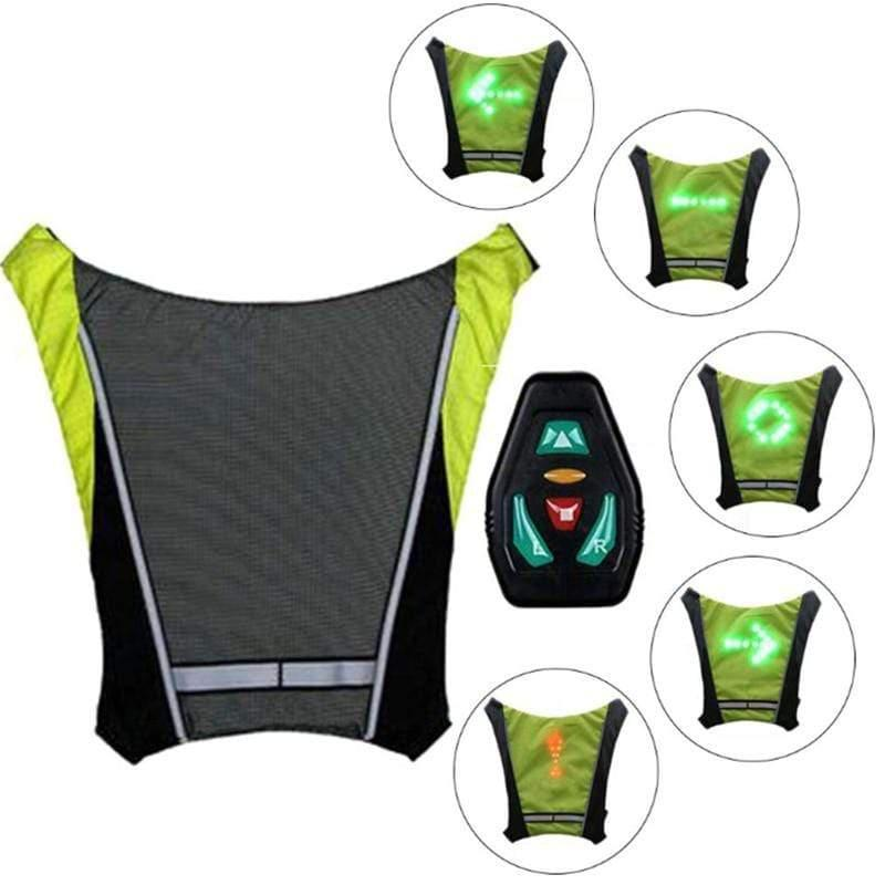 LED Vest with Direction Indicators-Find Home Supplies