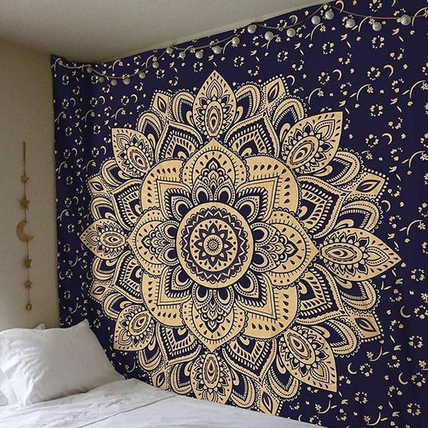 Mandala Wall Hanging Tapestry (13 Patterns)-Find Home Supplies