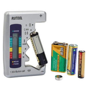Mini Digital Battery Capacity Tester-Find Home Supplies