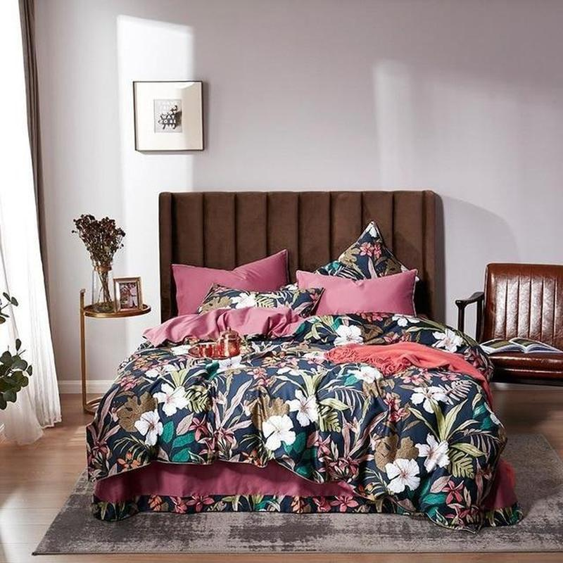 Modern Vintage Duvet Cover Set-Find Home Supplies