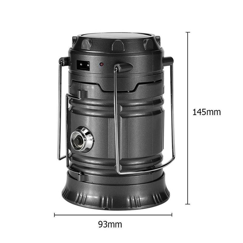 Portable LED Flame Lantern-Find Home Supplies