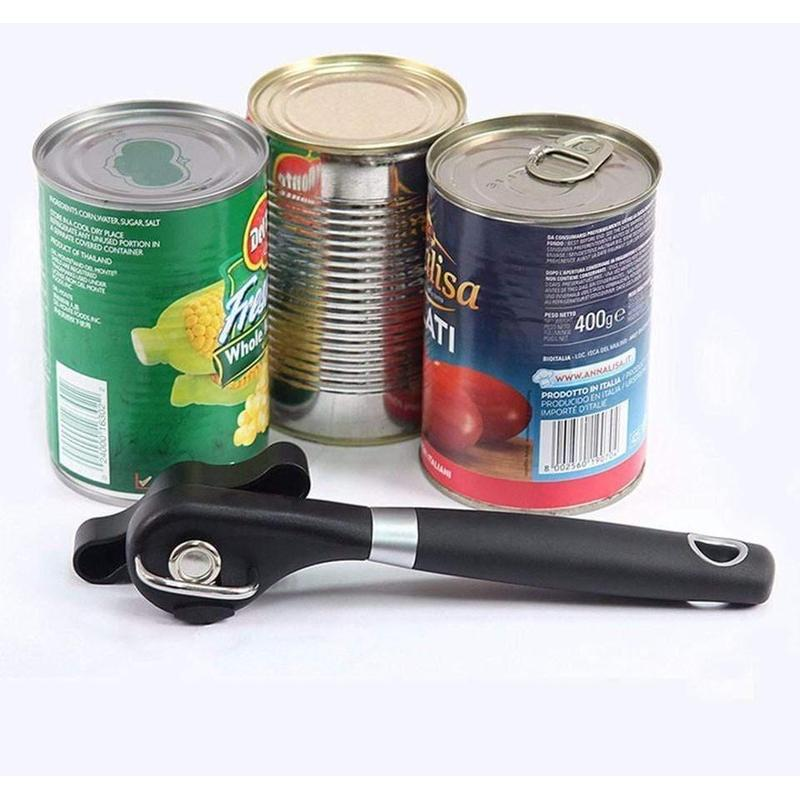 Stainless Steel Safe Cut Can Opener-Find Home Supplies