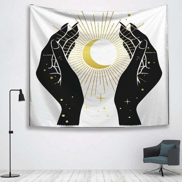 Sun Witchcraft Wall Hanging Tapestry (20 Patterns)-Find Home Supplies