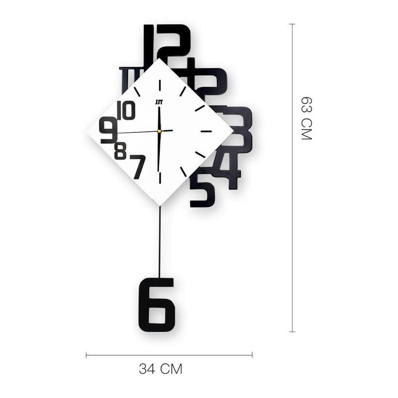 Swing Diamond Wall Clock-Find Home Supplies