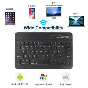 Ultra-Portable Bluetooth Smartphone Keyboard-Find Home Supplies