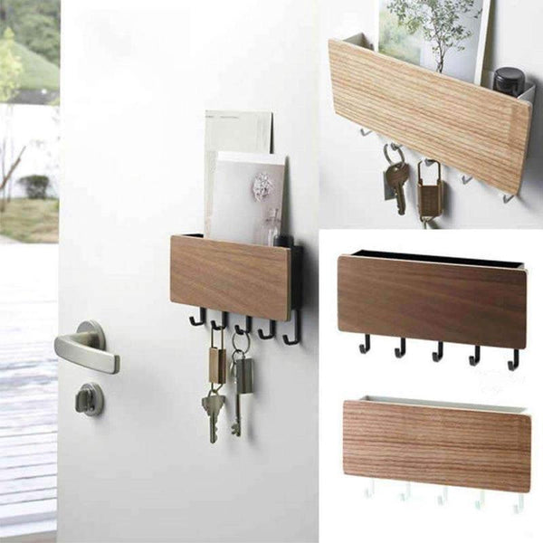 Wooden Key Rack-Find Home Supplies
