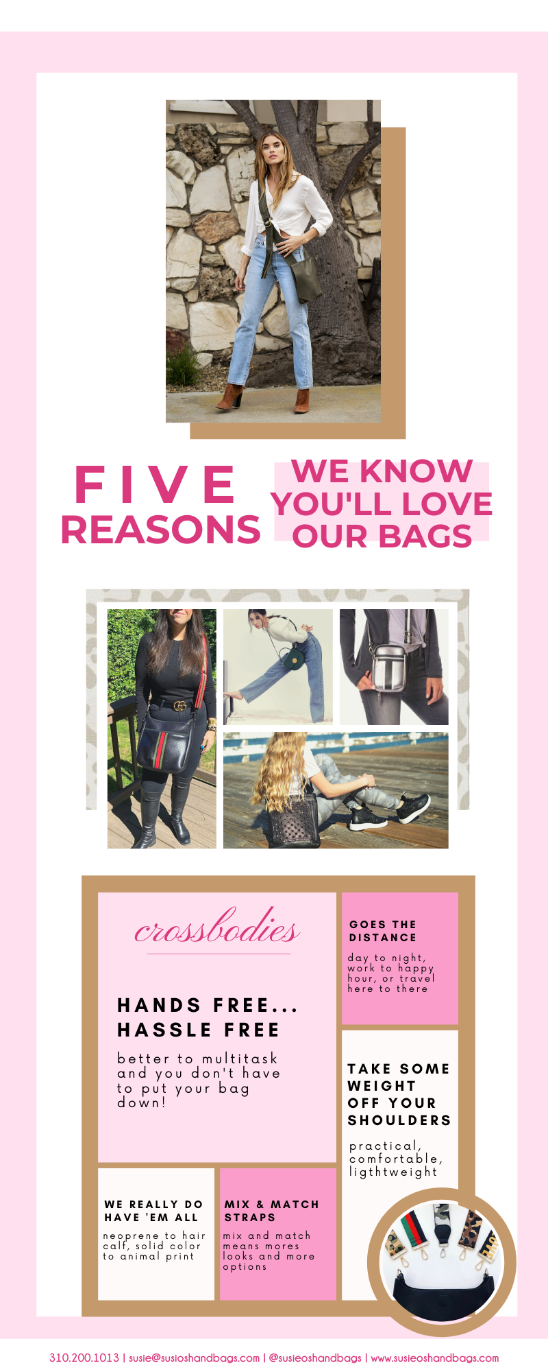 5 reasons to love crossbody bags