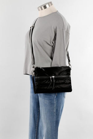 Mini Puffer Crossbody | Black (other colors available by request) - Susie O's Handbags