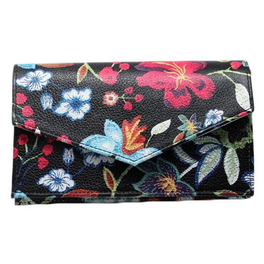 Hiptini Belt Bag/Crossbody- Midnight Flowers - Susie O's Handbags