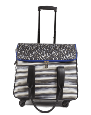 Camellia Rolling Trolley Bag (2 color options!) - Susie O's Handbags