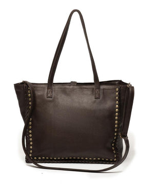 Marta Tote | White/Brown Pony - Susie O's Handbags