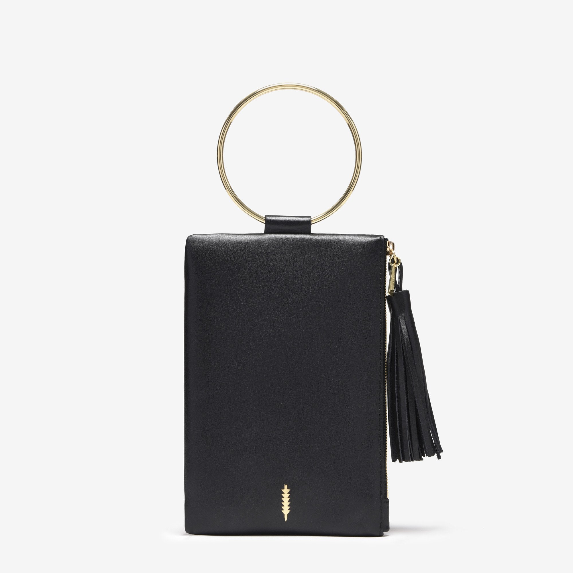 Nolita Clutch | Black/Gold - Susie O's Handbags