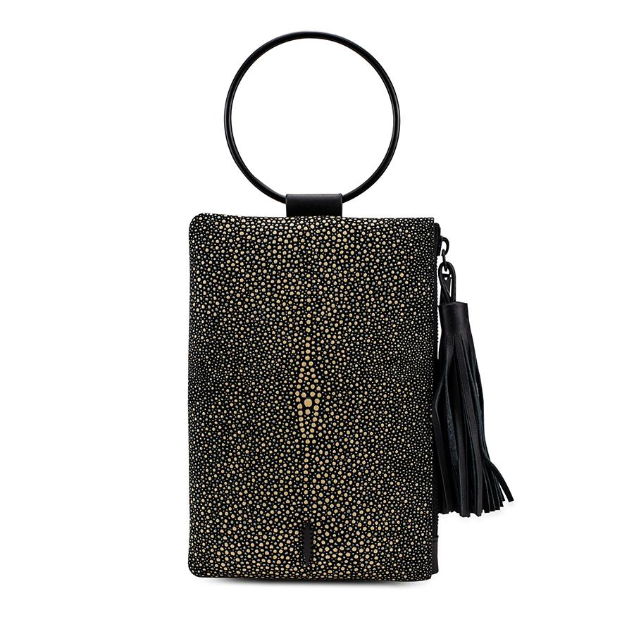 Nolita Clutch | Stingray - Susie O's Handbags