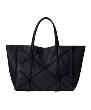 Cross Tote | Perissa Noir Black (SOLD OUT) - Susie O's Handbags