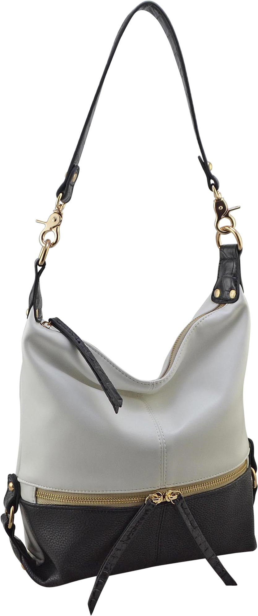 Colorblock Hobo | Large (CLEARANCE) - Susie O's Handbags