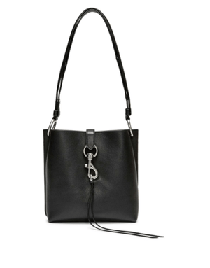 Megan Small Feed Bag | Black - Susie O's Handbags