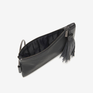 Nolita Clutch | Black/Gunmetal - Susie O's Handbags
