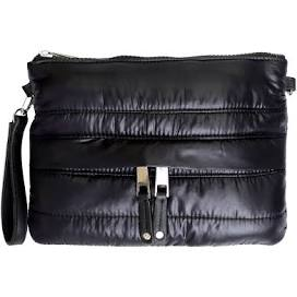 Mini Puffer Crossbody | Black Shiny (other colors available by request) - Susie O's Handbags