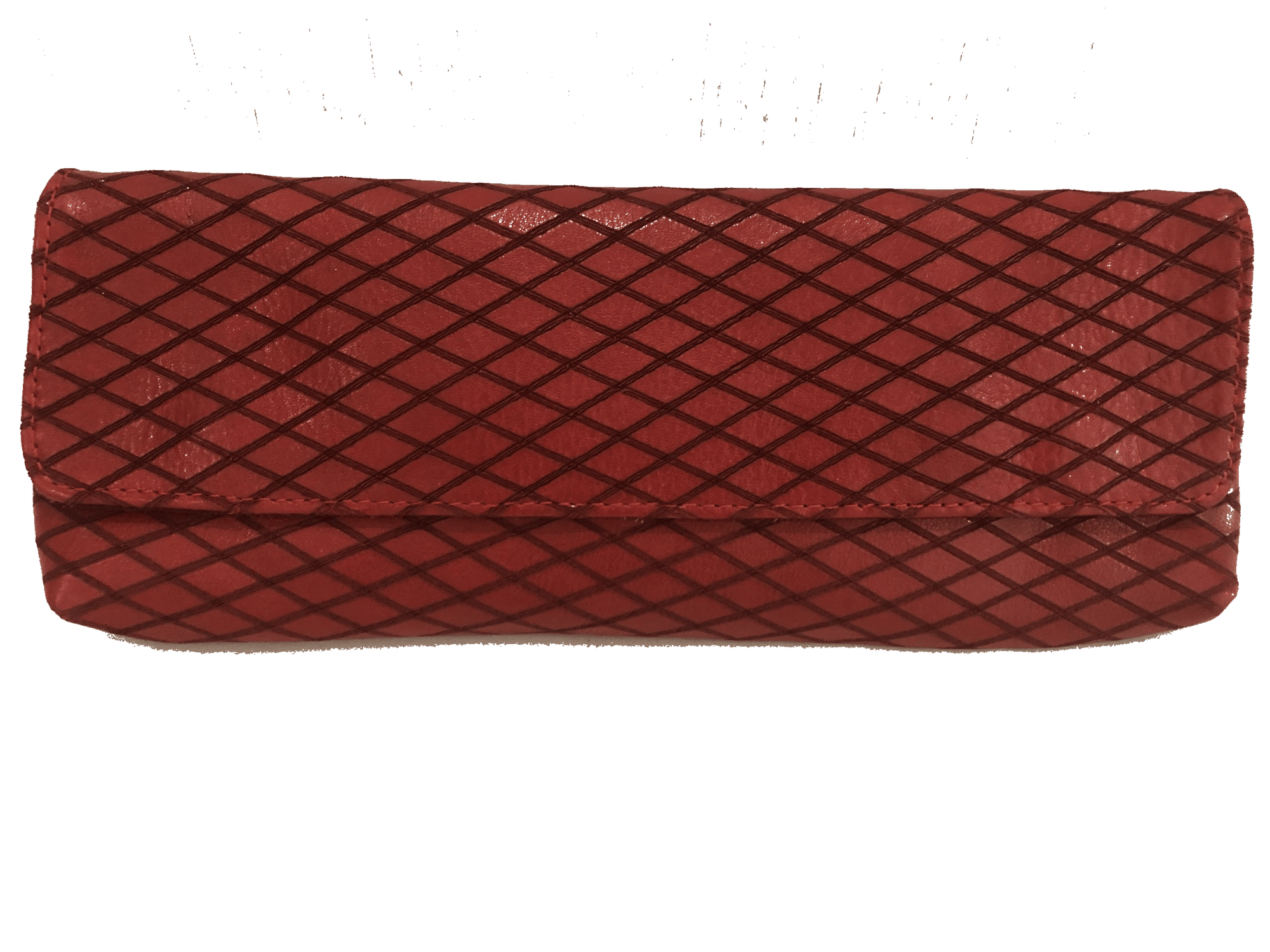 Baguette Clutch | Red Diamond - Susie O's Handbags