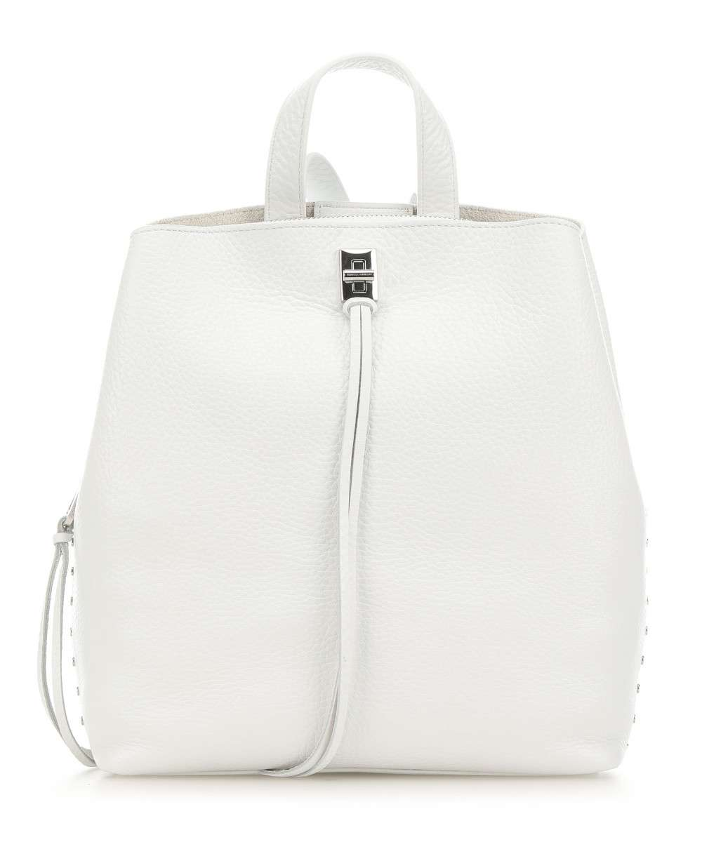 Darren Backpack | Optic White (SOLD OUT) - Susie O's Handbags