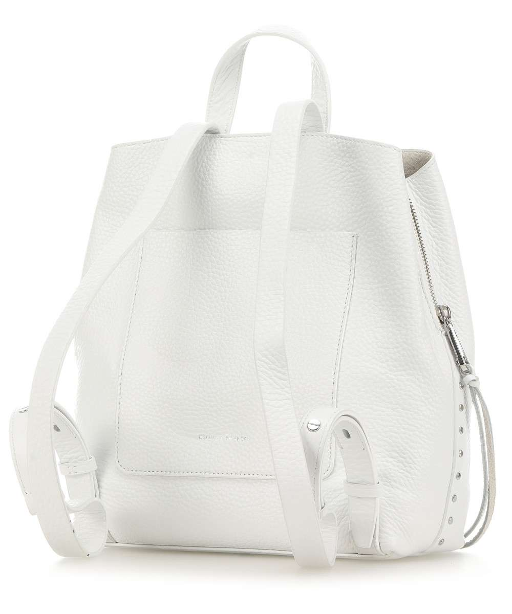 Darren Backpack- Optic White - Susie O's Handbags