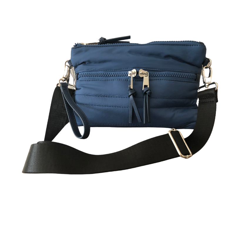 Mini Puffer Crossbody | Blue (SOLD OUT) - Susie O's Handbags