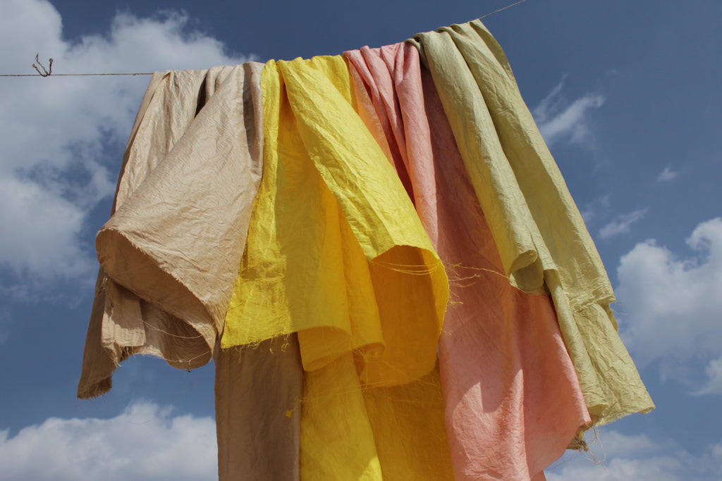 Natural Dyeing and Soot'able Printing