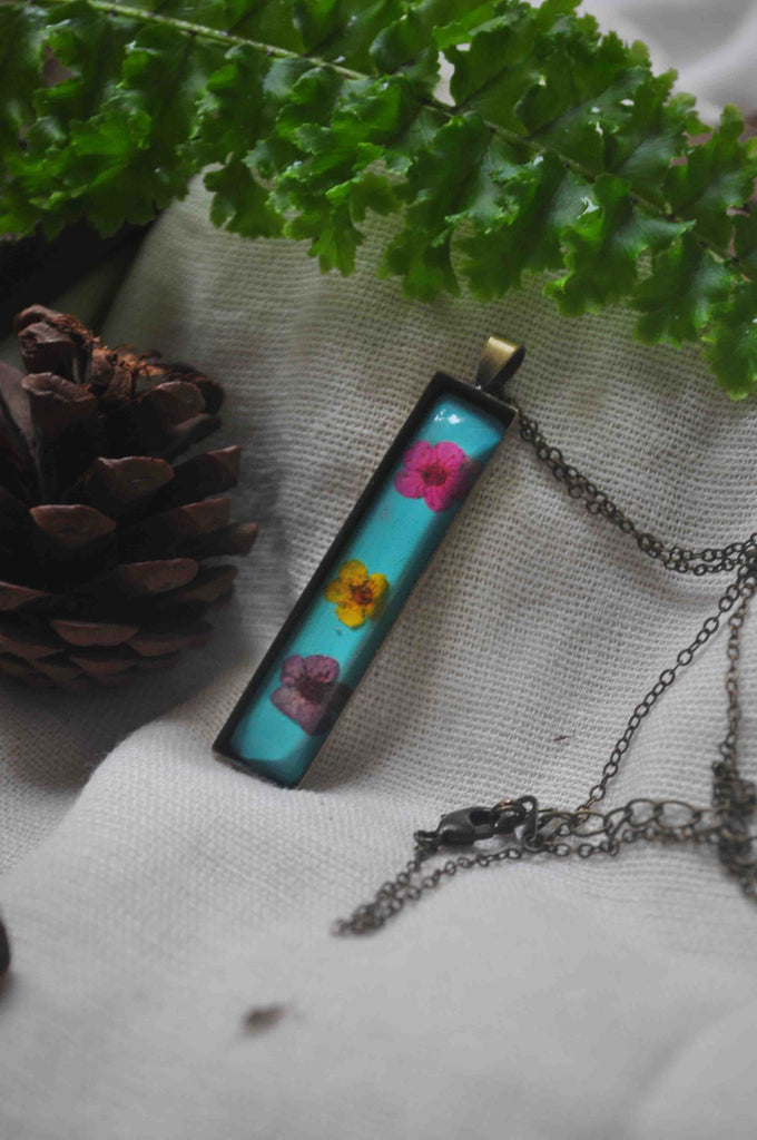 Wildflower Tube Necklace