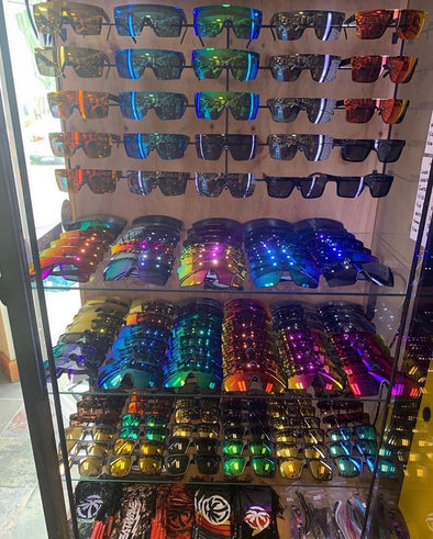 Shop Heat Wave Visual Sunglasses at the Azhiaziam Embarcadero Store! - Azhiaziam