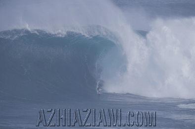 """Jaws"" TBT Feb 25th 2016 One of the Biggest waves in the World! - Azhiaziam"