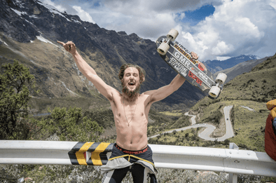 Daniel Engel AZHIAZIAM TEAM Downhill Skater Interview - Azhiaziam