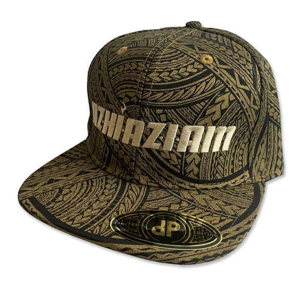 "Azhiaziam ""Gold Tribal"" Hat - Azhiaziam"