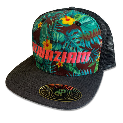 "Azhiaziam ""Blue Hawaiian"" Hat"