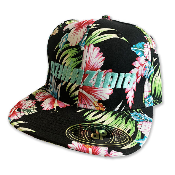 "Azhiaziam ""Black Hawaiian"" Hat - Azhiaziam"