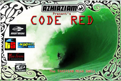 CODE RED The Teahupo'o mega swell DVD - Azhiaziam