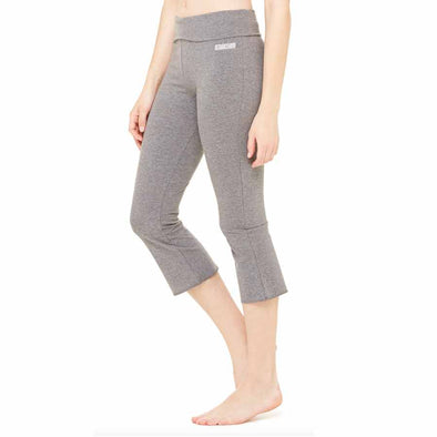 "Azhiaziam Women's ""Lighter"" Logo Capri Leggings - Azhiaziam"