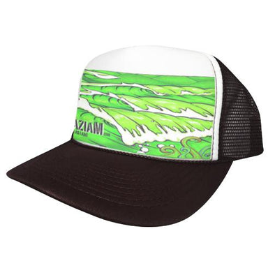 Azhiaziam Green Waves Trucker - Azhiaziam