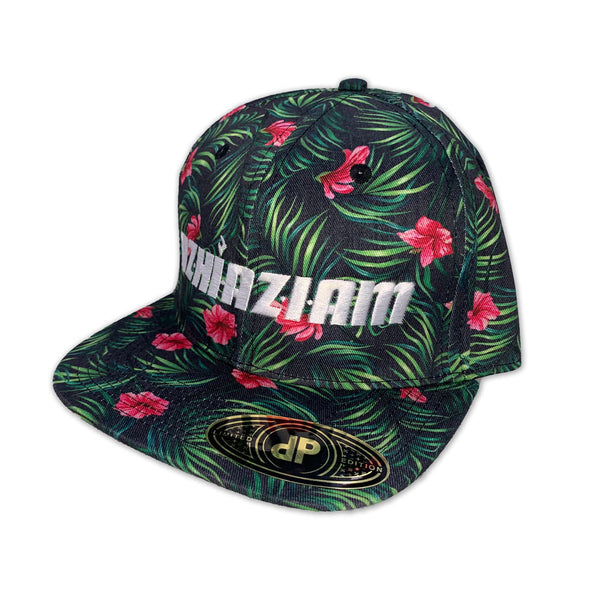 "Azhiaziam ""Hibiscus Jungle"" Hat"