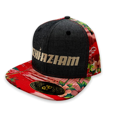 "Azhiaziam ""Hawaiian Denim"" Hat - Azhiaziam"