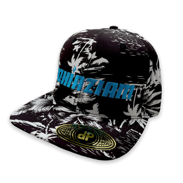 "Azhiaziam ""Black 'n White Hawaiian"" Hat - Azhiaziam"