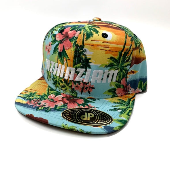 "Azhiaziam ""Hawaiian Sunset"" Hat - Azhiaziam"